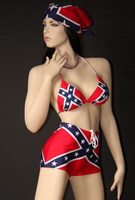 Confederate flag swimwear